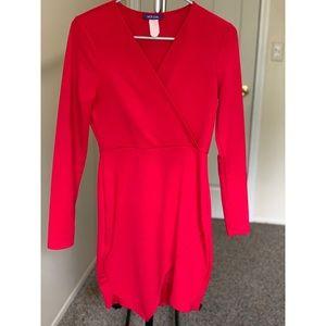 Red & Black dress